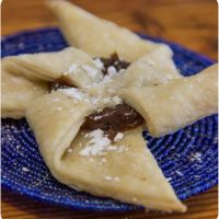 Shuriken delights - with my very own puff pastry recipe - and the holiday gift wrap-up