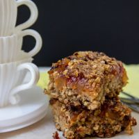 Apple streusel coffee cake (gf)