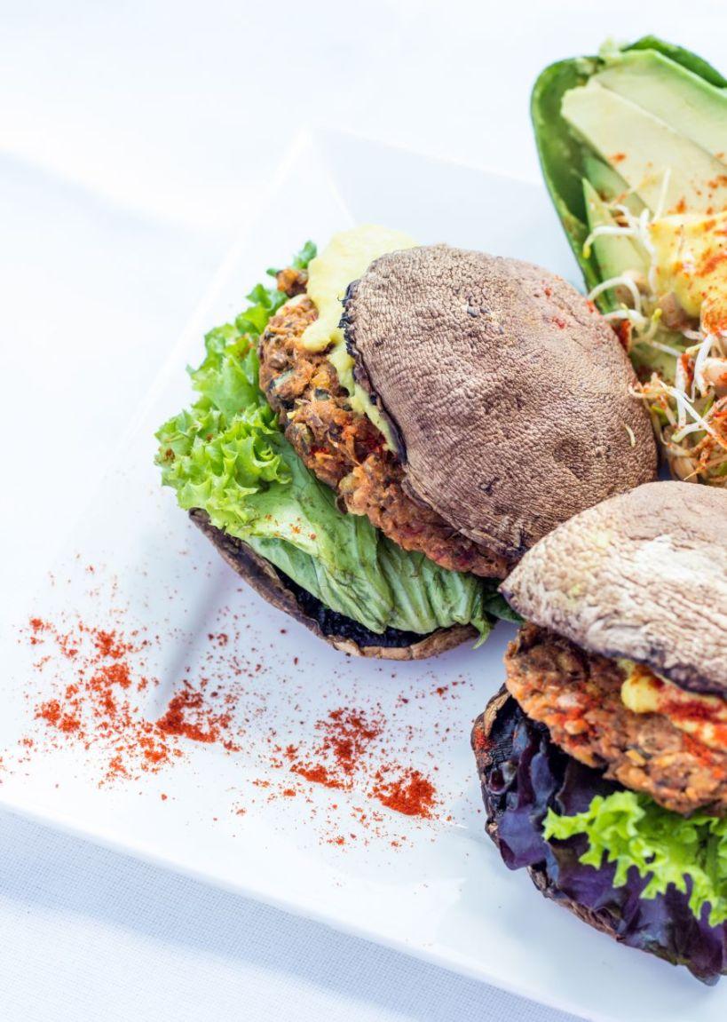 lentilriceburgerside