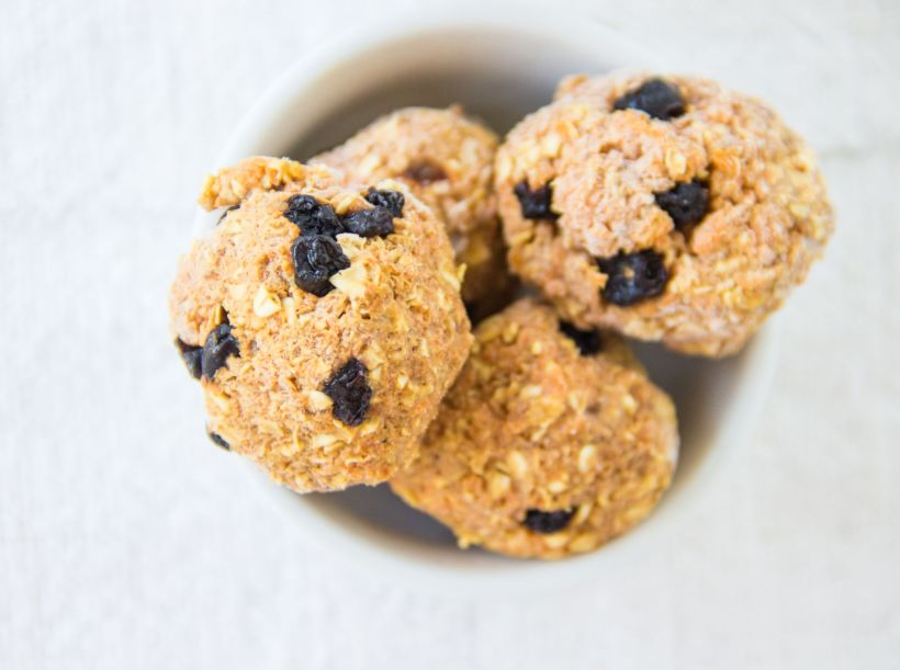 No-bake carrot oat balls - Marfigs' Munchies