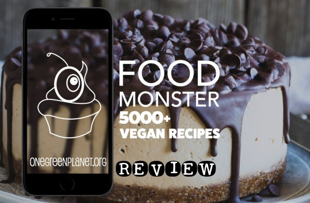 Review of One Green Planet's Food Monster app via Marfigs' Munchies