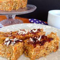 Carrot + peach breakfast loaf {vegan + gluten-free}